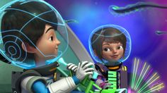 Details for helmets - Miles from Tomorrowland family costumes
