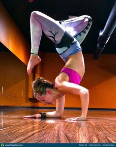 "#Yoga Poses Around the World: ""Scorpion Variation - by Robin M."""