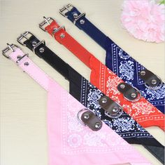 Cute Dog Bandana Collar by SouthernFree on Etsy, $7.99