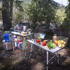 The ultimate camp kitchen!