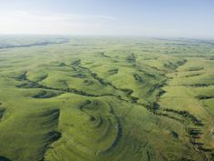 """THE FLINT HILLS OF KANSAS - this is posted for everyone who has ever said """"But Kansas is just flat!"""" They don't know what they're talking about. Only western Kansas is flat. The east is rolling hills."""