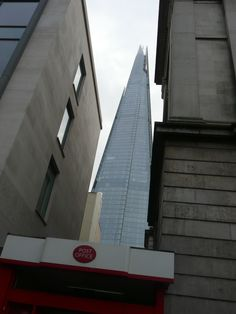 Sneaky snap of the Shard. The Shard, Places Of Interest, London, London England