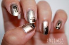 Kitty Nails by diamant sur l'ongle