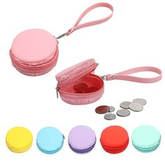 $2.29// Macaron Coin Purse// Delivery: 5-6 weeks