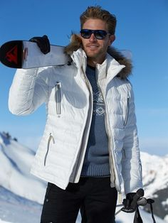 Shop our exclusive collection of men's designer ski jacket! Parkas, coats, down. Ski Fashion, Mens Fashion, Snow Valley, Down Parka, Exclusive Collection, Skiing, Rain Jacket, Windbreaker, Winter Jackets