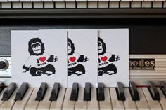 I <3 MOON Monkey from AIR, french music band