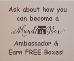 Prompt to ask about the MandiBox Ambassador program