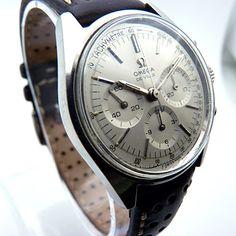 OMEGA De Ville Chronograph 861 calibre - 145.018 Vintage 1968 - Racing strap