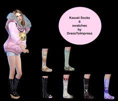 Kawaii socks at Dress To Impress • Sims 4 Updates