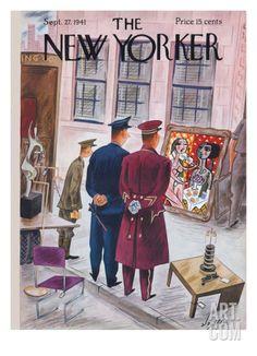 The New Yorker Cover - September 27, 1941 Regular Giclee Print by Constantin Alajalov at Art.com