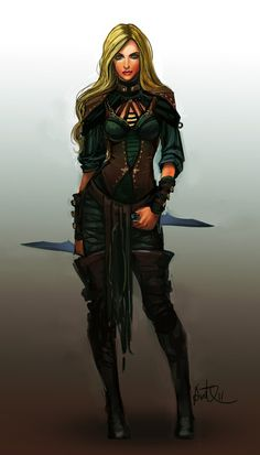 #weiblich #Dieb #Krieger #Phex