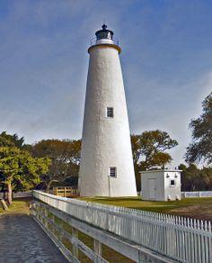 Ocracoke Lighthouse, Outer Banks, North Carolina