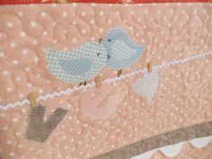 Sweet Valentine Quilt details
