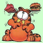 Garfield - weegschaal