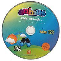 CD ANIMUS IPA KELAS 1, 2, 3 SD/ MI