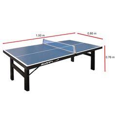 medidas de mesa de ping pong - Pesquisa Google