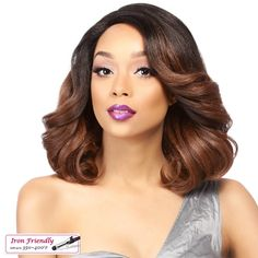 It's a Wig Synthetic Swiss Lace Front Wig MAITA