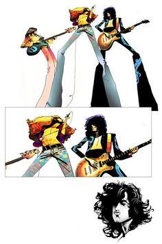 Led Zeppelin artwork...love this!