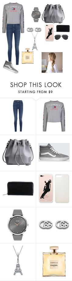 """""""shopping day"""" by manaldadssi ❤ liked on Polyvore featuring J Brand, Tommy Hilfiger, Vans, Louis Vuitton, BOSS Black, Gucci and Bling Jewelry"""