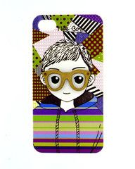 Smiling Innocent Boy Mobile Cover - Back Cover for iPhone 4/4s