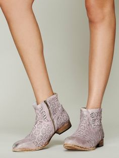 Free People Bloom Ankle Boot, 228.00; would look awesome with shorts & tee weekends!