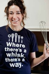 "This tee is a great gift for any foodie. The t-shirt states, ""Where there's a way, there's a whisk,"" a motto any homecook can live by. The ""Where There's a..."