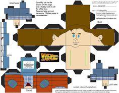 BTTF: Marty McFly Cubee by TheFlyingDachshund on deviantART
