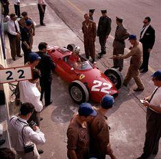 1960 GP Włoch (Monza) Ferrari Dino 156P (Wolfgang von Trips)