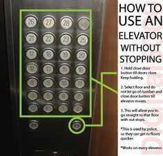 I know what I'm going to try next time Im in an elevator :D