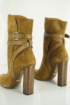 24ed8e78dcbf9 Gucci Maori Lifford Leather Trimmed Suede Ankle Boots Sz 38  1100 Nib