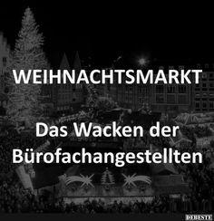 Weihnachtsmarkt.. | Lustige Bilder, Sprüche, Witze, echt lustig