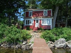 Cottage vacation rental in Damariscotta Lake from VRBO.com! #vacation #rental #travel #vrbo