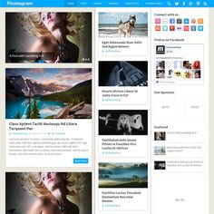 Pinstagram is a Pinterest inspired WordPress theme that features the trademark grid layout with multiple post sizes and long list of posts. Capture the magic of Pinterest and maximize your pageviews with a layout users are familiar with, with the MyThemeShop powerful functionality and optimizations.