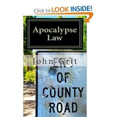 FICTION NOVEL - Apocalypse Law is about a plague wipes out ninety-five percent of the world's population, leaving Nate Williams'  and his thirteen-year-old son to survive on their farm. In the bedlam of lawlessness and starvation, hungry, desperate men arrive from the nearest town to take their meager supplies. In the end, it is the kindness of a father desperate to save his son that may give two families and the stranger an opportunity to build a new life in a post-apocalypse world.