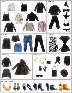 Zero Waste Home's minimalist wardrobe