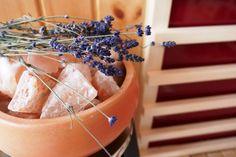 Sole-Therme Salzverdampfer - Salz kombiniert mit frischen Kräutern aus Ihrem Garten... daheim entspannen... Wellness, Salt, Garten