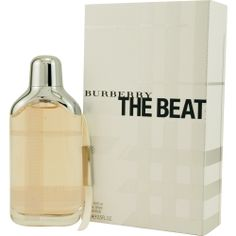 BURBERRY THE BEAT Perfume by Burberry... Fragrance Notes: woody floral scent with bergamot, cardamom, pink pepper, mandarin, Ceylon tea, iris, white musk, vetiver, and cedar Recommended Use: daytime... recommended age: mature scent strength: moderate classification: flowery recommended use: casual scent life: 1-5 hours