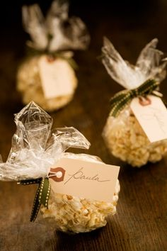 Popcorn Balls -- easy to make, my boys loved them!