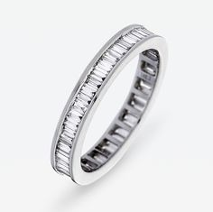 1 Carat Diamond Full Band Eternity Ring by Hatton by Design