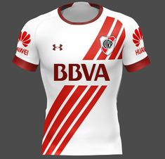 Sports Jersey Design, Jersey Designs, Jersey Atletico Madrid, Soccer Kits, Red And White Stripes, Football Jerseys, Sport Fashion, Premier League, Athletic Wear