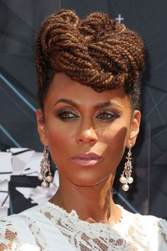 Attractive #twists #protectivestyle  #naturalhair