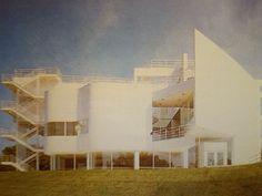 Richard Meier, The Atheneum w New Harmony, Indiana, 1975-1979