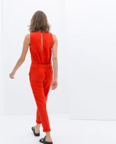 ZARA - NEW THIS WEEK - JUMPSUIT WITH POCKETS
