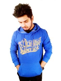 Beat the chill in style this winter season by wearing this blue sweatshirt by EDC Esprit. While the stunning print on the front adds sophistication to this regular-fit creation, the cotton fabric promises warmth and extreme comfort. Ideal for casual wear, it will look great when clubbed with a pair of denims and sneakers.    Type Sweatshirts   Fabric Cotton   Sleeves Full Sleeve   Neck Hooded   Wash Care Dark Colours To Be Washed Separately   Fit Regular   Color Blu