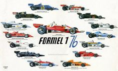 Photo of the day: 1976 Formula 1 illustration