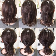 Hair Arrange, Pretty Hairstyles, Updos, Locks, Your Hair, Hair Care, Short Hair Styles, Hair Color, Hair Beauty