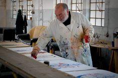 Agostinho Santos em trabalho de atelier na Viarco 😊🎨