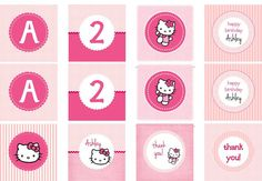 printable favor tags cupcake toppers napkin rings food labels.
