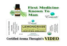 Lemongrass Essential Oil - USDA Certified Essential Oils From Essante Or...