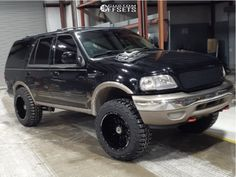 2001 Ford Expedition 20x12 -44mm Anthem Off-Road Equalizer Lincoln Aviator, Ford Excursion, Ford Expedition, Custom Cars, Offroad, Gallery, Ideas, Car Tuning, Off Road